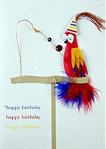 making birthday cards