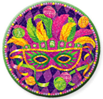 masquerade plate