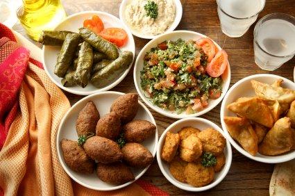 Arabian Night Food
