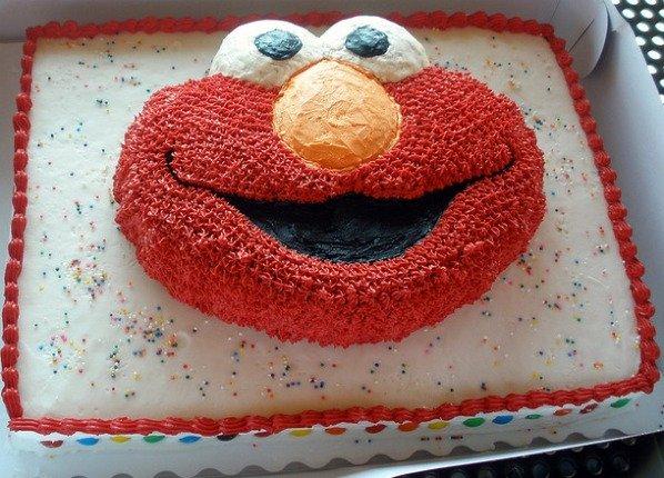 Sesame Street Cakes
