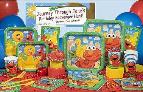 Sesame Street Supplies