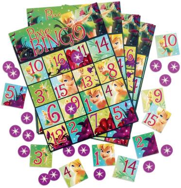 tinkerbell bingo