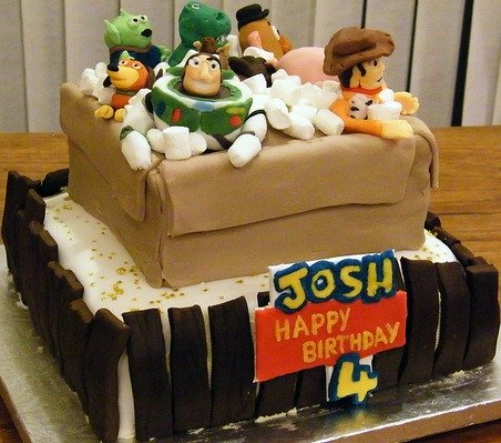 Toy Story Cakes
